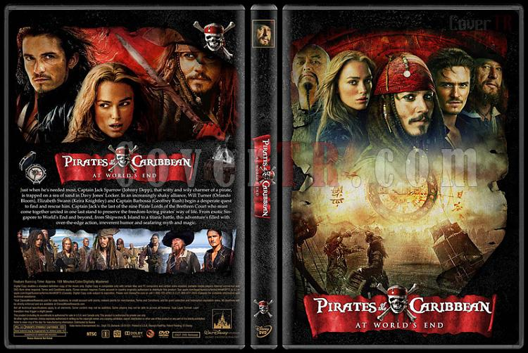 Pirates of the Caribbean Collection (Karayip Korsanları) - Custom Dvd Cover Set - English [2003-2017]-3jpg