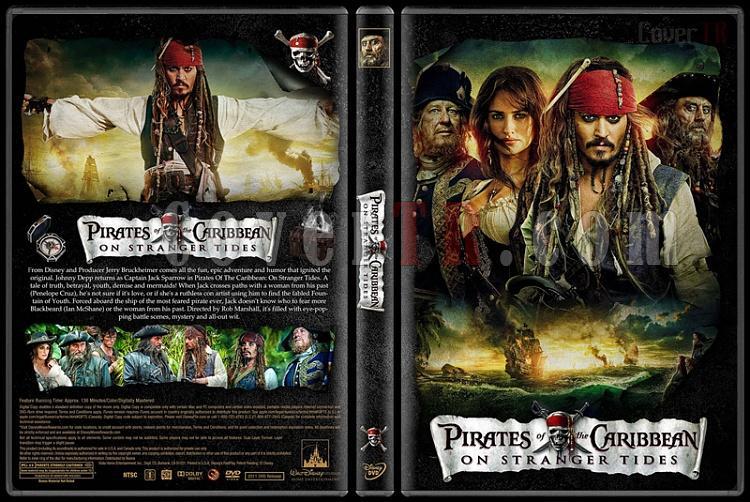 Pirates of the Caribbean Collection (Karayip Korsanları) - Custom Dvd Cover Set - English [2003-2017]-4jpg