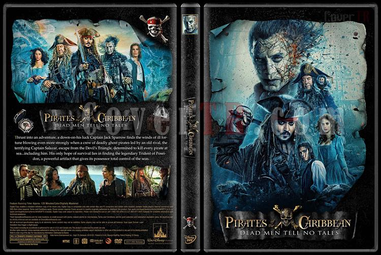 Pirates of the Caribbean Collection (Karayip Korsanları) - Custom Dvd Cover Set - English [2003-2017]-5jpg