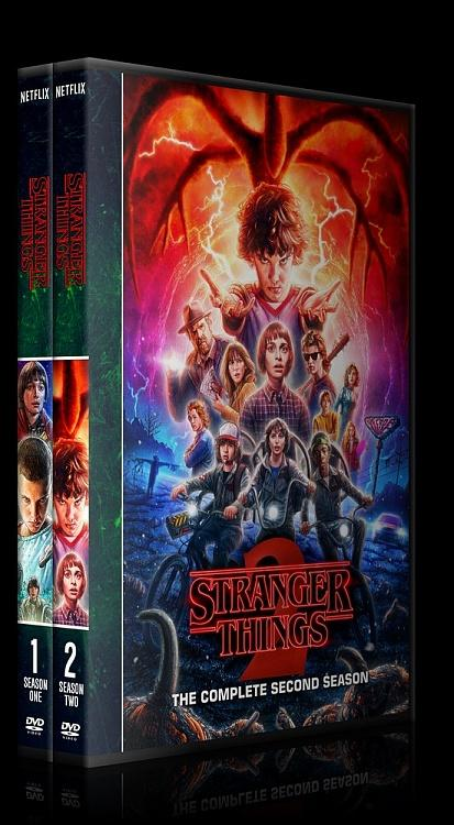 Stranger Things (Season 1) - Custom Dvd Cover Box Set - English [2016-?]-0jpg