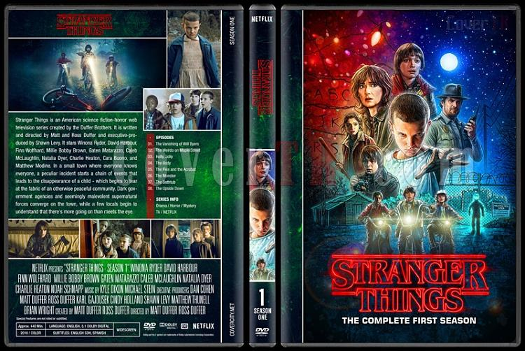 Stranger Things (Season 1) - Custom Dvd Cover Box Set - English [2016-?]-1jpg