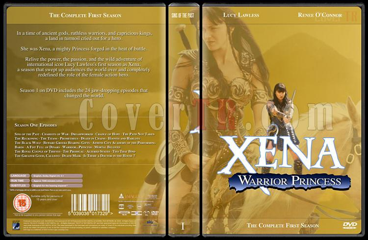 Xena (Season 1-6) - Custom Dvd Cover Set - English [1995-2001]-xena-season-1jpg