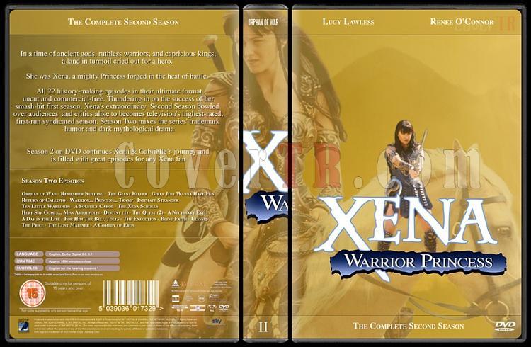 Xena (Season 1-6) - Custom Dvd Cover Set - English [1995-2001]-xena-season-2jpg