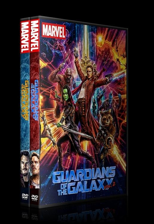 Guardians of the Galaxy - Custom Dvd Cover Set - English [2014-2017]-0jpg
