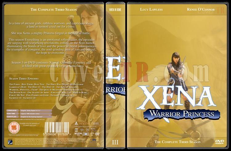 Xena (Season 1-6) - Custom Dvd Cover Set - English [1995-2001]-xena-season-3jpg