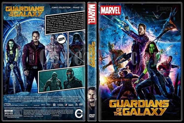Guardians of the Galaxy - Custom Dvd Cover Set - English [2014-2017]-guardiansofthegalaxypreviewjpg