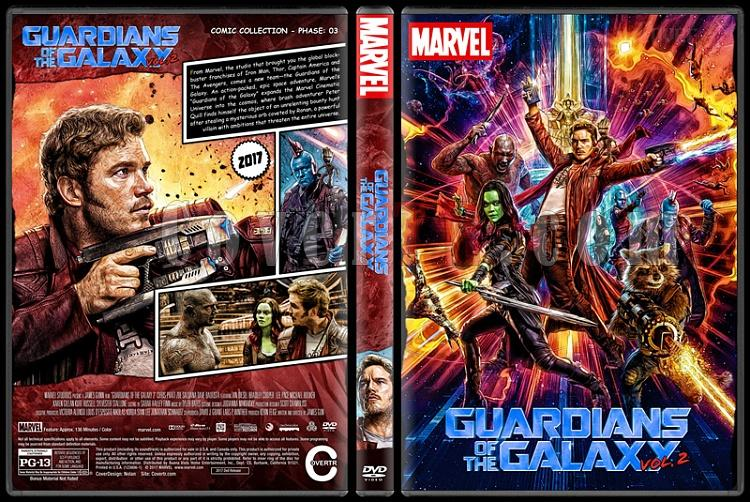 Guardians of the Galaxy - Custom Dvd Cover Set - English [2014-2017]-guardiansofthegalaxy2previewjpg