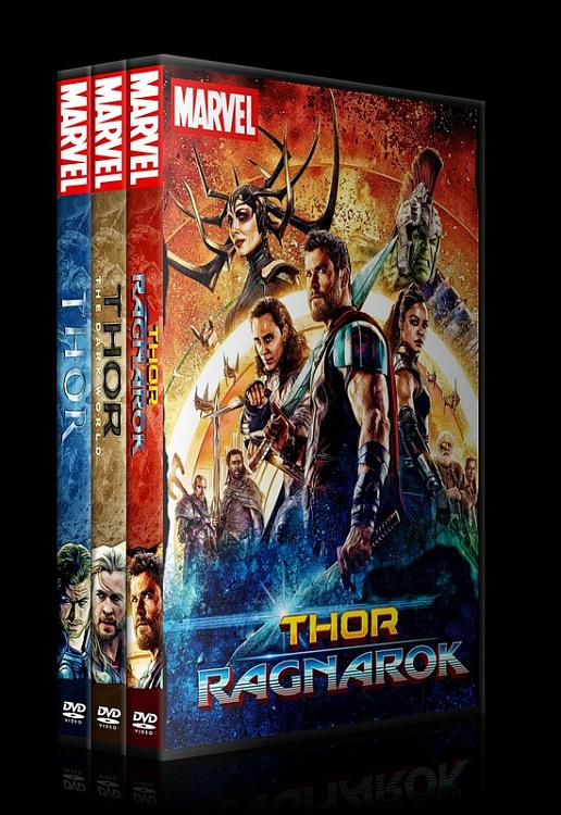 Thor - Custom Dvd Cover Set - English [2011-2013-2017]-0jpg