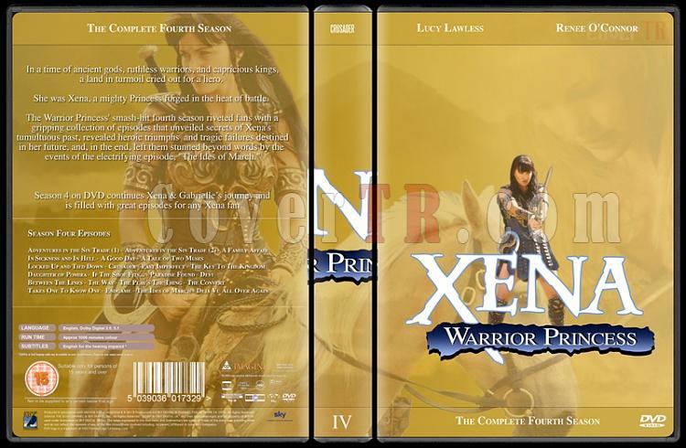 Xena (Season 1-6) - Custom Dvd Cover Set - English [1995-2001]-xena-season-4jpg