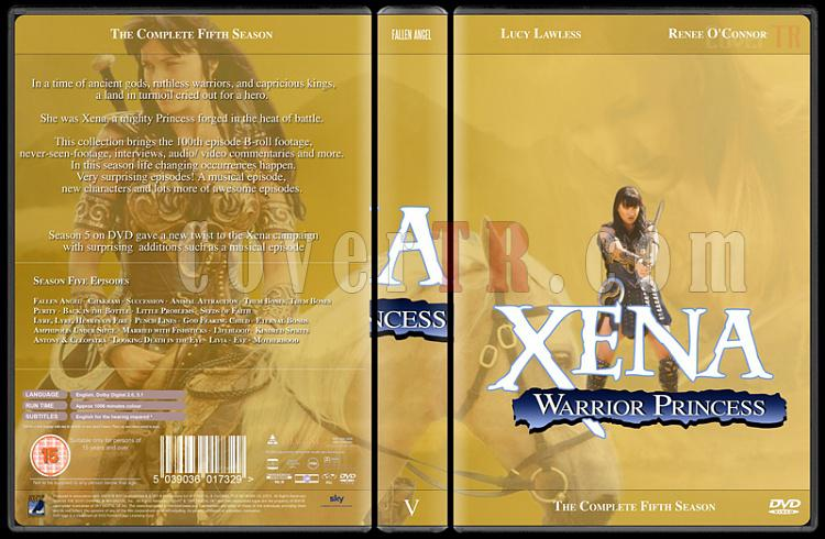 Xena (Season 1-6) - Custom Dvd Cover Set - English [1995-2001]-xena-season-5jpg