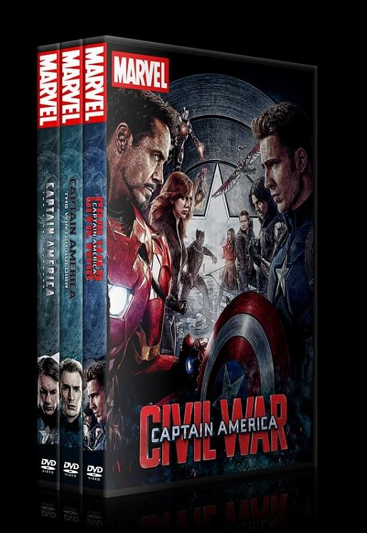 Captain America - Custom Dvd Cover Set - English [2011-2014-2016]-0jpg
