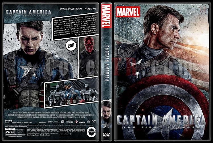 Captain America - Custom Dvd Cover Set - English [2011-2014-2016]-1jpg
