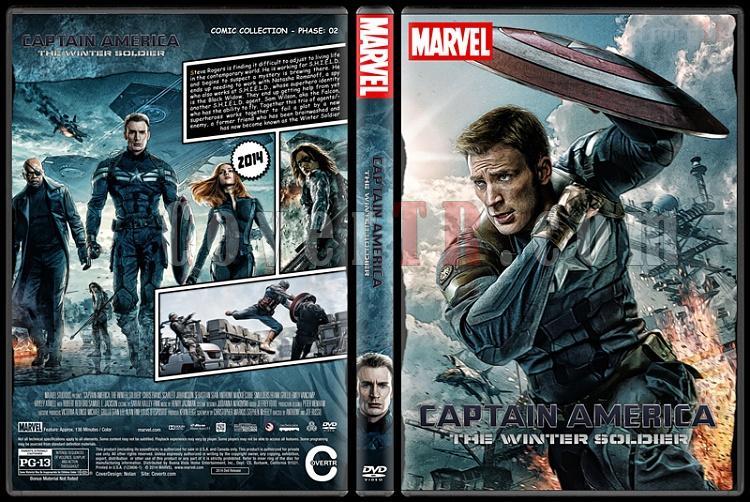 Captain America - Custom Dvd Cover Set - English [2011-2014-2016]-2jpg