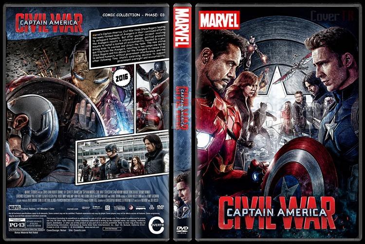 Captain America - Custom Dvd Cover Set - English [2011-2014-2016]-3jpg