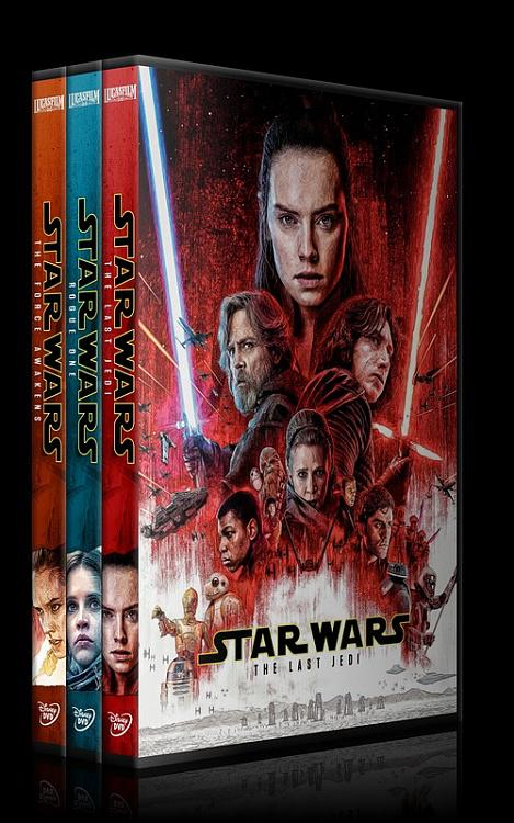 Star Wars Collection - Custom Dvd Cover Set - English [2015-2016-2017]-0jpg
