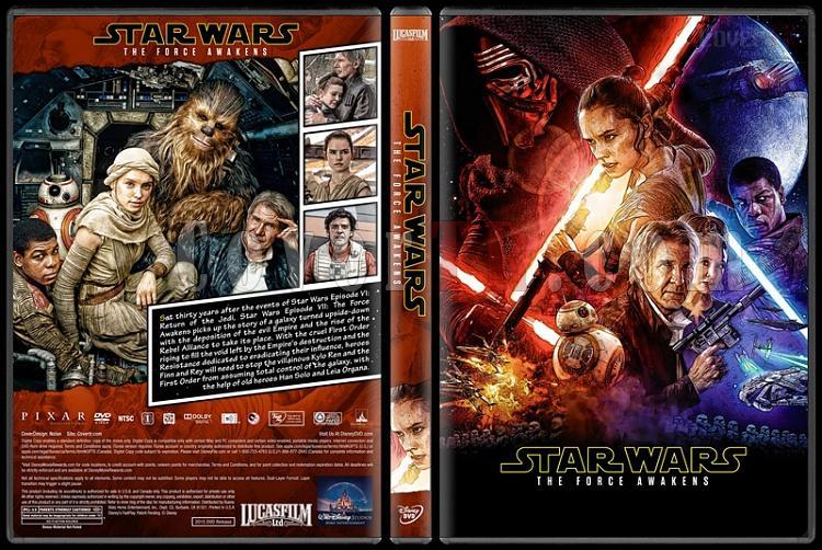 Star Wars Collection - Custom Dvd Cover Set - English [2015-2016-2017]-1jpg