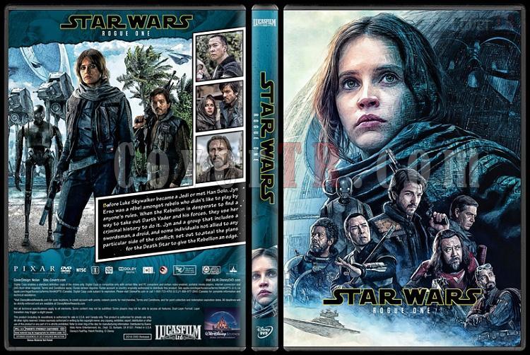 Star Wars Collection - Custom Dvd Cover Set - English [2015-2016-2017]-2jpg