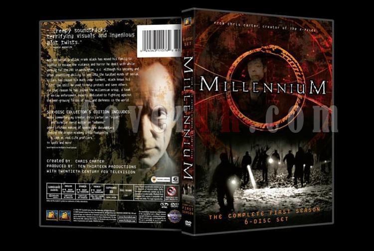 Millennium (Season 1-3) - Custom Dvd Cover Set - English [1996-1999]-millennium1jpg