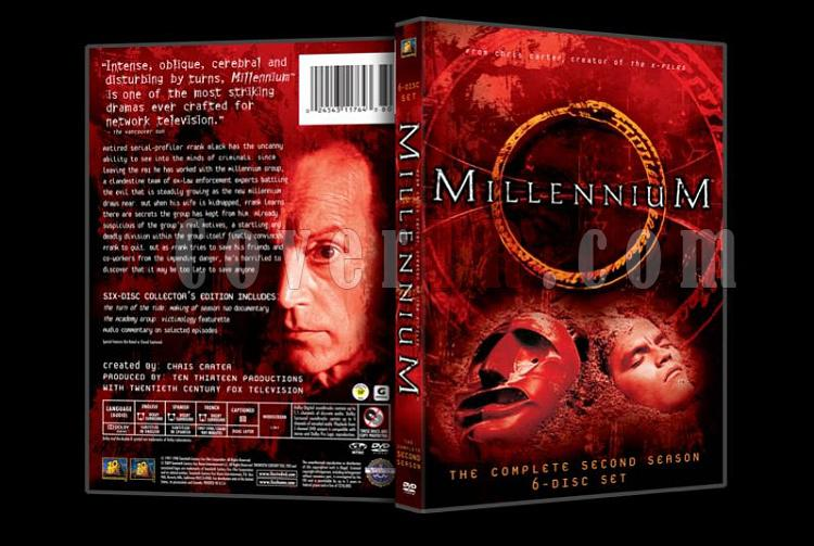 Millennium (Season 1-3) - Custom Dvd Cover Set - English [1996-1999]-millennium2jpg
