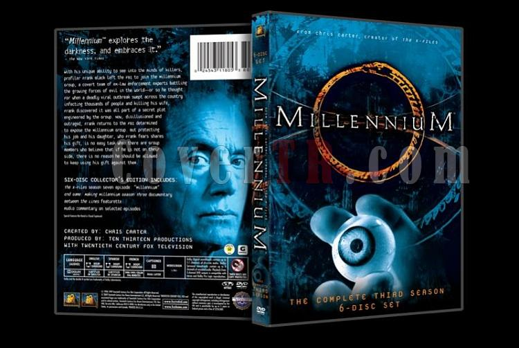 Millennium (Season 1-3) - Custom Dvd Cover Set - English [1996-1999]-millennium3jpg