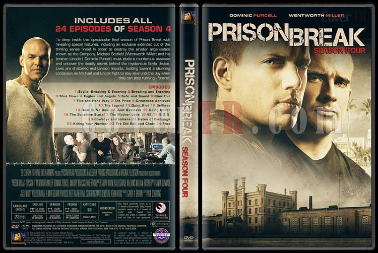 Prison Break (Seasons 1-5) - Custom Dvd Cover Set - English [2005-2017]-4jpg