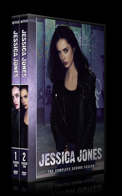 Jessica Jones (Season 1-2) - Custom Dvd Cover Set - English [2015-?]-0jpg