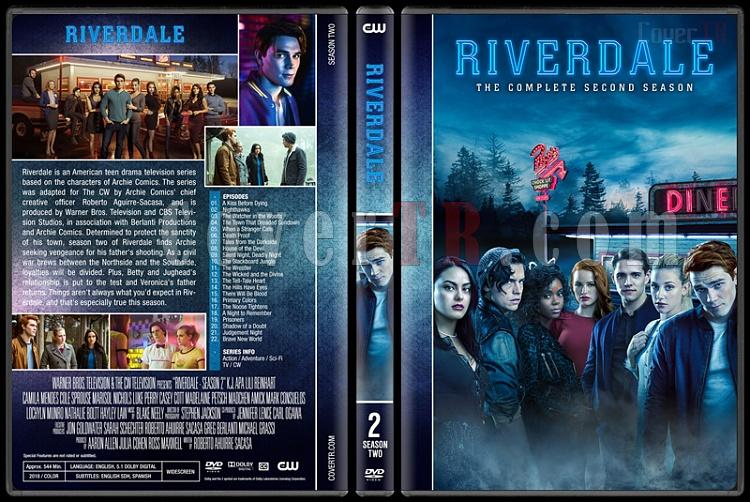 Riverdale (Season 1-2) - Custom Dvd Cover Set - English [2016-?]-2jpg