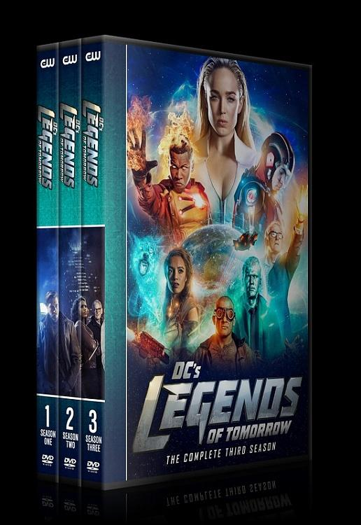 Legends of Tomorrow (Season 1-3) - Custom Dvd Cover Set - English [2016-?]-0jpg