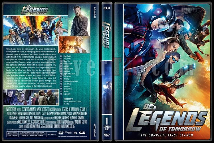 Legends of Tomorrow (Season 1-3) - Custom Dvd Cover Set - English [2016-?]-1jpg