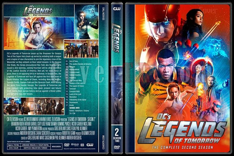Legends of Tomorrow (Season 1-3) - Custom Dvd Cover Set - English [2016-?]-2jpg