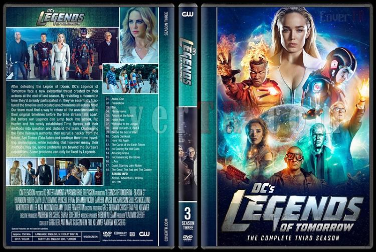 Legends of Tomorrow (Season 1-3) - Custom Dvd Cover Set - English [2016-?]-3jpg