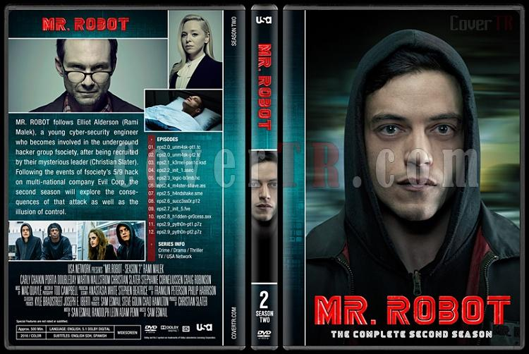 Mr. Robot (Seasons 1-3) - Custom Dvd Cover Set - English [2015-?]-2jpg