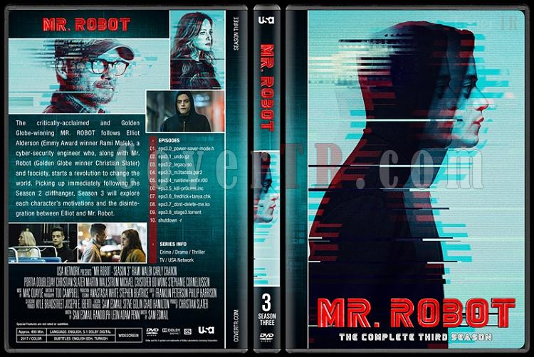 Mr. Robot (Seasons 1-3) - Custom Dvd Cover Set - English [2015-?]-3jpg