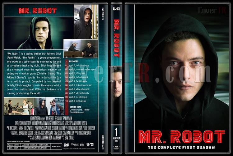 Mr. Robot (Seasons 1-3) - Custom Dvd Cover Set - English [2015-?]-1jpg