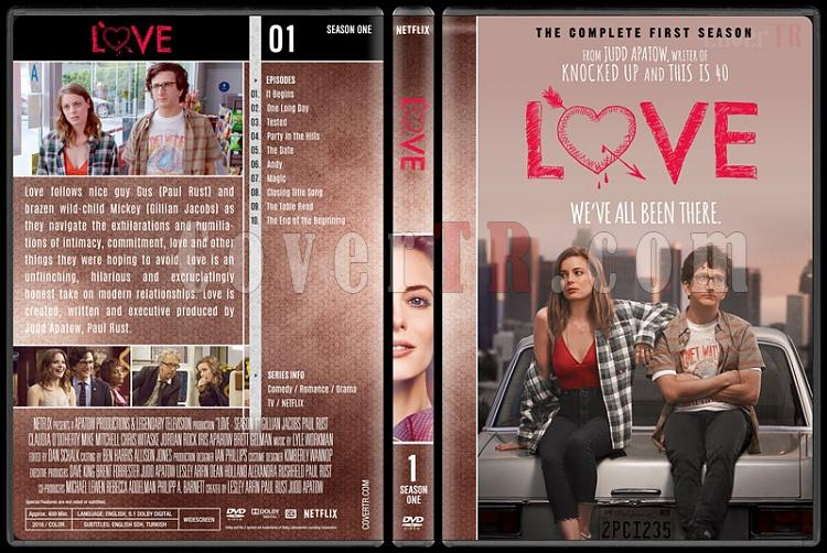 Love (Seasons 1-3) - Custom Dvd Cover Set - English [2016-2018]-1jpg