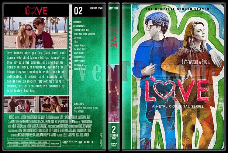 Love (Seasons 1-3) - Custom Dvd Cover Set - English [2016-2018]-2jpg