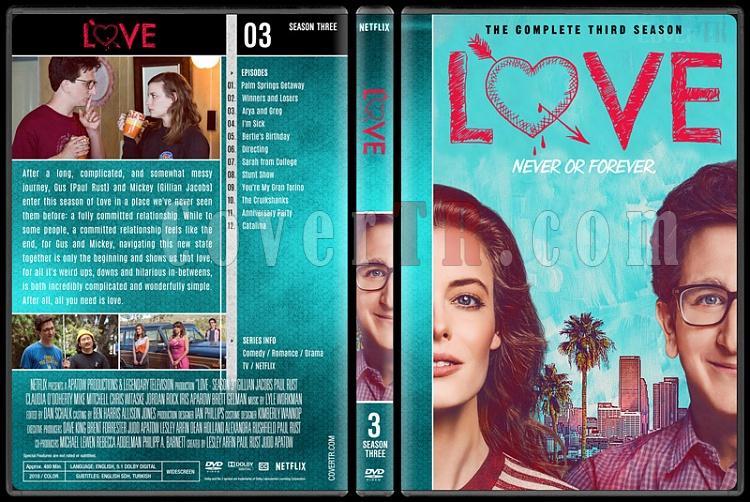 Love (Seasons 1-3) - Custom Dvd Cover Set - English [2016-2018]-3jpg