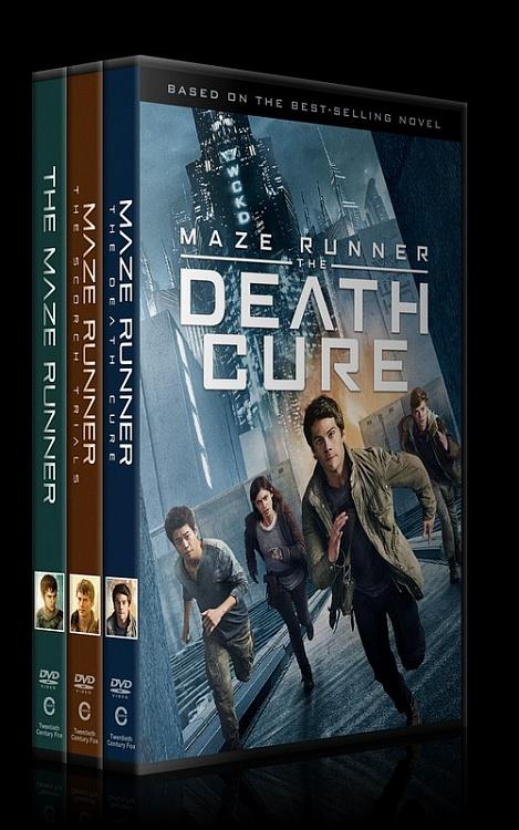 The Maze Runner Collection (Labirent Koleksiyonu) - Custom Dvd Cover Set - English [2014-2015-2018]-0jpg