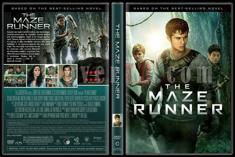 The Maze Runner Collection (Labirent Koleksiyonu) - Custom Dvd Cover Set - English [2014-2015-2018]-1jpg