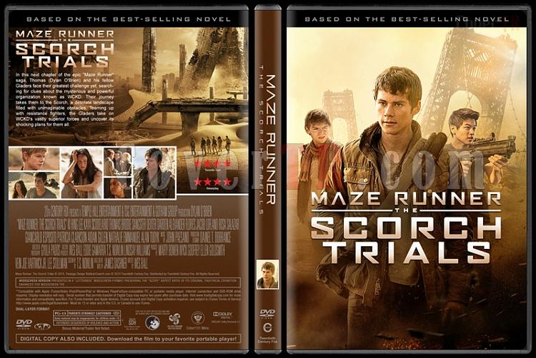 The Maze Runner Collection (Labirent Koleksiyonu) - Custom Dvd Cover Set - English [2014-2015-2018]-2jpg
