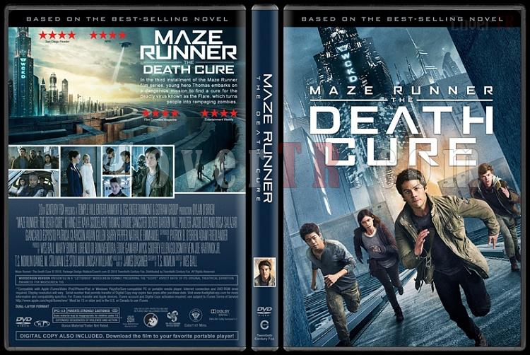 The Maze Runner Collection (Labirent Koleksiyonu) - Custom Dvd Cover Set - English [2014-2015-2018]-3jpg
