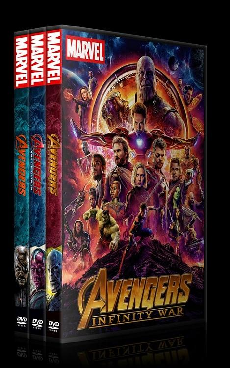 The Avengers - Custom Dvd Cover Set - English [2012-2015-2018]-0jpg