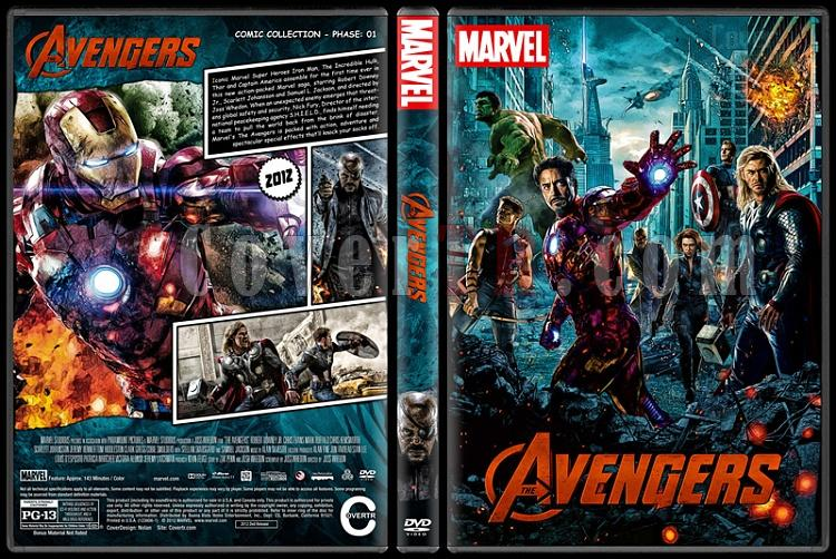 The Avengers - Custom Dvd Cover Set - English [2012-2015-2018]-1jpg
