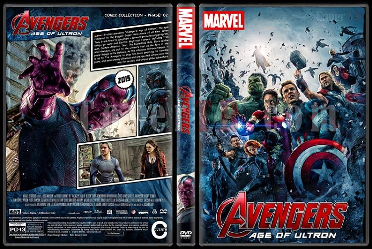 The Avengers - Custom Dvd Cover Set - English [2012-2015-2018]-2jpg