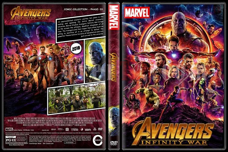 The Avengers - Custom Dvd Cover Set - English [2012-2015-2018]-3jpg