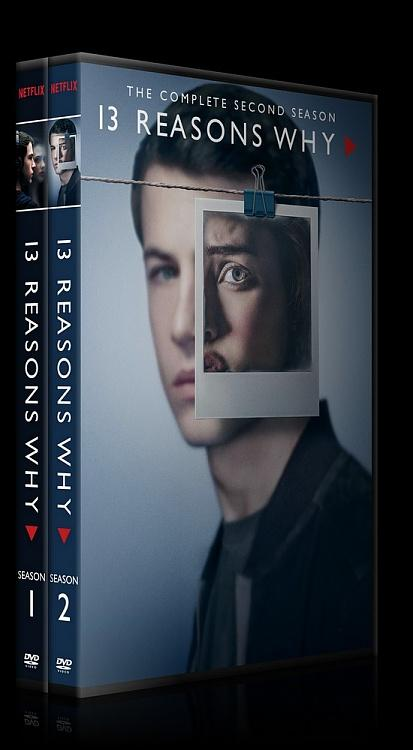 13 Reasons Why (Season 1-2) - Custom Dvd Cover Set - English [2017-2018]-0jpg
