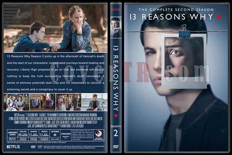 13 Reasons Why (Season 1-2) - Custom Dvd Cover Set - English [2017-2018]-s02jpg
