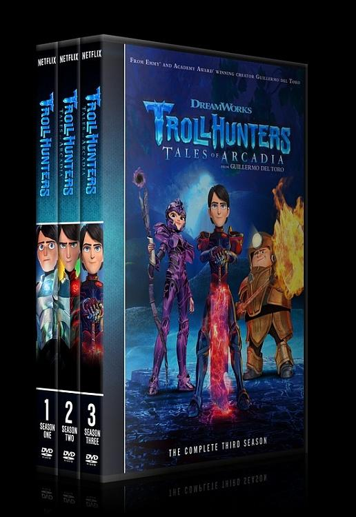 Trollhunters (Seasons 1-3) - Custom Dvd Cover Set - English [2016-2018]-0jpg