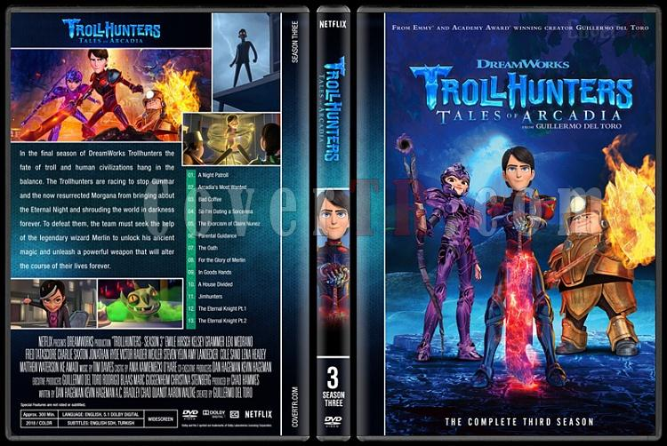 Trollhunters (Seasons 1-3) - Custom Dvd Cover Set - English [2016-2018]-3jpg