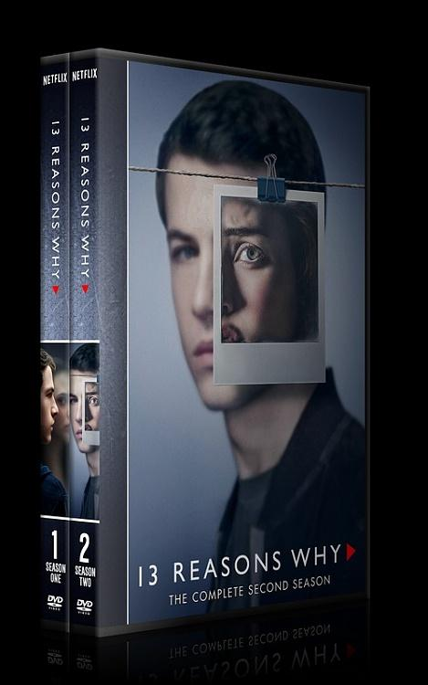 13 Reasons Why (Season 1-2) - Custom Dvd Cover Box Set - English [2017-2018]-0jpg